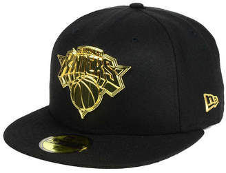 New Era New York Knicks Current O'Gold 59FIFTY Cap