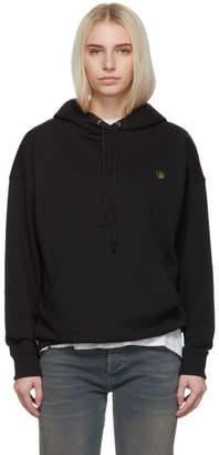 6397 SSENSE Exclusive Black Leaf Hoodie