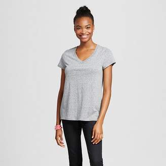 Mossimo Supply Co. Women's Short Sleeve Relaxed V-Neck Triblend $8 thestylecure.com
