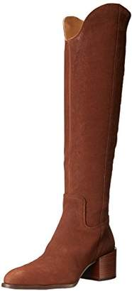 Nine West Women's Enrica Leather Over-The-Knee Boot
