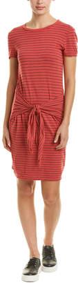 Three Dots Big Sur Stripe Shift Dress