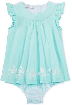 First Impressions Floral Skirted Sunsuit, Baby Girls (0-24 months), Only at Macy's $18 thestylecure.com