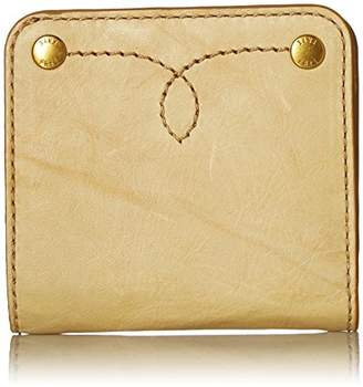 Frye Women's Campus Rivet Small Leather Snap Wallet