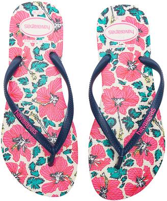 Havaianas Slim Floral Sandal $30 thestylecure.com