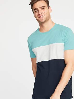 Old Navy Soft-Washed Color-Block Tee for Men