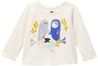 Tea Collection Selkie Graphic Tee (Baby Girls)
