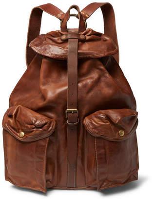 RRL Riley Leather Backpack