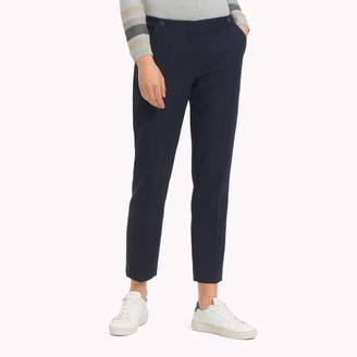 Tommy Hilfiger Twill Cropped Ankle Pant