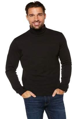 Elegance123 Mens Slim Fit Soft Cotton Pullover Light Turtleneck- Roll neck