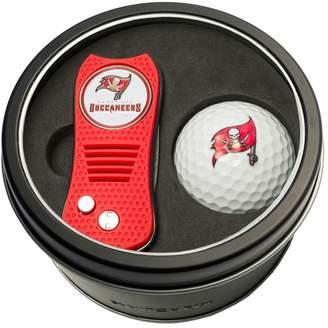 Team Golf Tampa Bay Buccaneers Switchfix Divot Tool & Golf Ball Set