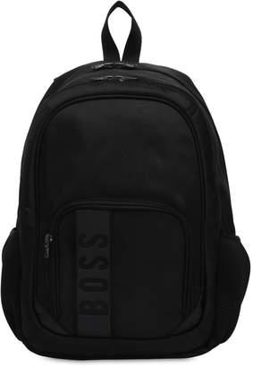 HUGO BOSS Nylon Canvas Backpack