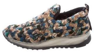 Maison Margiela Boucle' Low-Top Sneakers