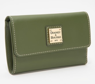 Dooney & Bourke Vachetta Leather Flap Wallet