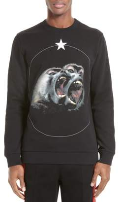 Givenchy Monkey Brothers Graphic Sweatshirt