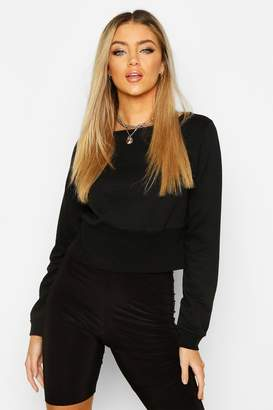 boohoo Fitted Waist Sweater