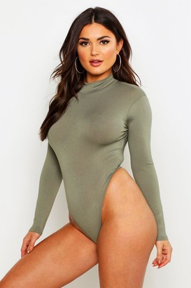 boohoo Basic Turtle Neck Long Sleeve bodysuit