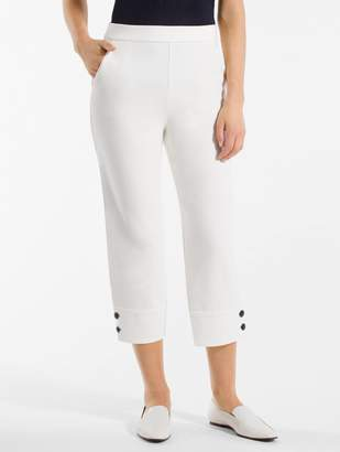 St. John Stretch Double Knit Capri Pants