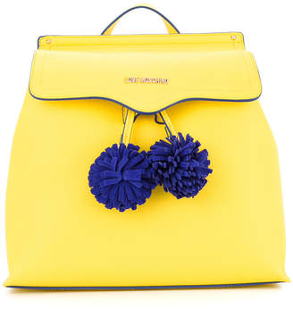 Love Moschino pompom-detail backapack