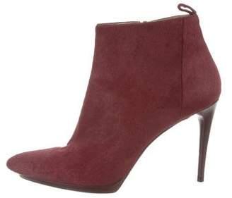 Balenciaga Ponyhair Ankle Boots