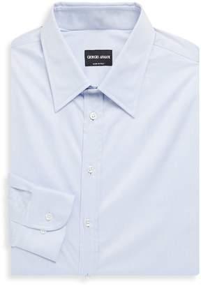 Giorgio Armani Men's Classic Cotton Dress Shirt