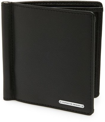 money clip wallet designer bppt  Porsche Design Men's 'Cl2 20' Money Clip Card Holder