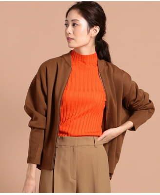 ICB (アイシービー) - ICB Compact Wool Ester ニットブルゾン アイシービー コート/ジャケット