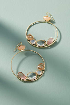 Anthropologie Pebbled Lane Drop Earrings