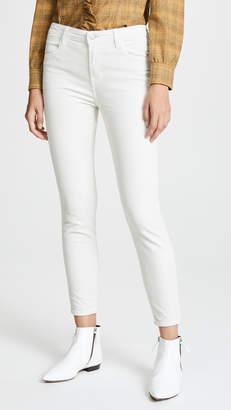 J Brand Alana High Rise Crop Skinny Pants