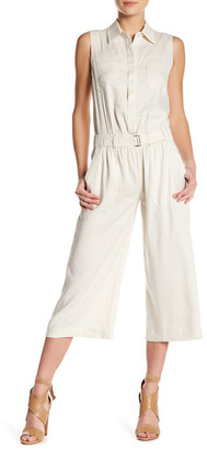 VINCE. Sleeveless Linen Blend Jumpsuit $395 thestylecure.com