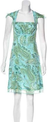 Cynthia Steffe Cynthia Knee-Length Short Sleeve Dress