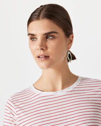 Jigsaw Grecian Wave Earring
