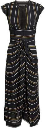 Proenza Schouler Striped Midi Dress