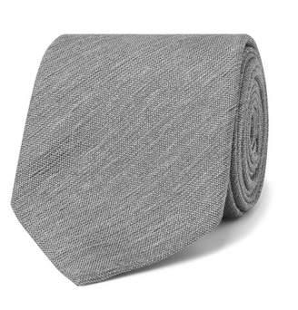 Dunhill 8cm Textured-Silk Tie