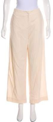 Giorgio Armani Mid-Rise Wide-Leg Pants