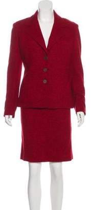 Balmain Wool Skirt Suit w/ Tags