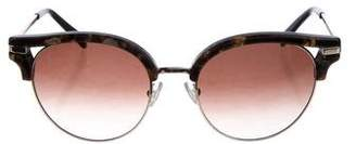 Balmain Cat-Eye Tortoiseshell Sunglasses