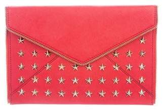 Rebecca Minkoff Star-Studded Leo Clutch w/ Tags