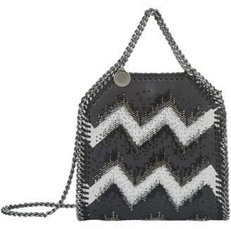 Stella McCartney Tiny Falabella Chevron Tote Bag