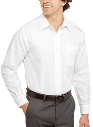 George Men's Long Sleeve Dress Shirt