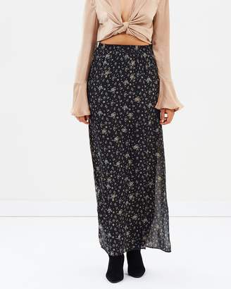 Missguided Side Split Maxi Skirt
