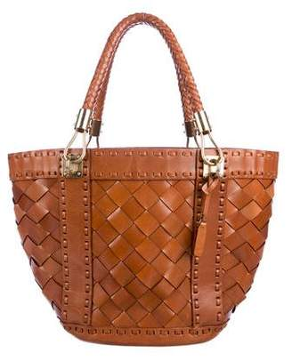 dc135088c6 Pre-Owned at TheRealReal · Michael Kors Woven Leather Tote