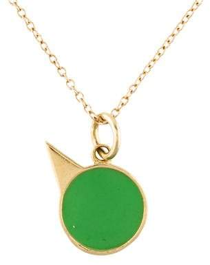Alison Lou 14K Small Party Animal Necklace
