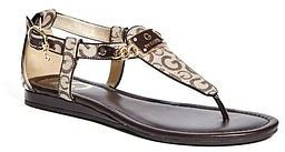 GByGUESS G By Guess Women's Jettson T-Strap Sandals $39.99 thestylecure.com