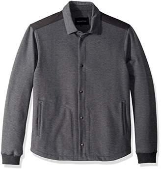 Bugatchi Men's Wool Long Sleeve Style Jacket Knit