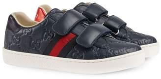 Gucci Kids Children's Signature sneaker with Web