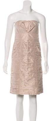 Chloé Silk Strapless Dress