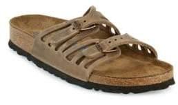 Birkenstock Granada Oiled Leather Double Strap Sandals