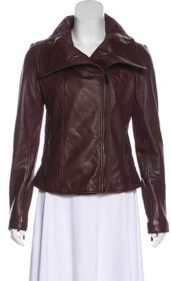 MICHAEL Michael Kors Lightweight Leather Jacket