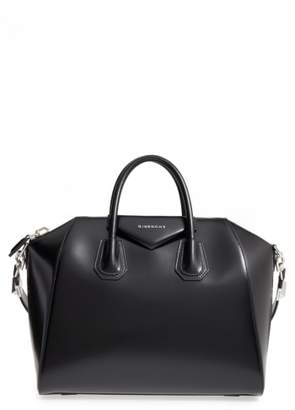 Givenchy Medium Antigona Box Leather Satchel