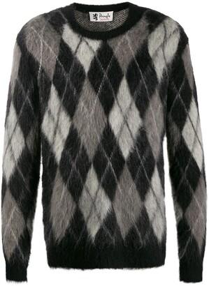 Pringle Reissued Argyle knit jumper